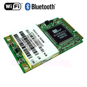 wholesale 54M Wireless Mini PCI-E Lan Network Card WiFi+Bluetooth, 3pcs /lot(China (Mainland))
