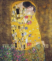 100% handmade  Gustav Klimt paintings by professional artists wholesale and retail