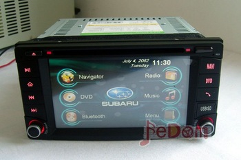 Car DVD GPS Navigation+Auto Radio+Bluetooth+iPod connection+DVD+MP3/MP4+free shipping for Subaru Forester