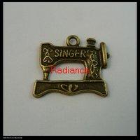 150pcs/lot 21x18mm bronze pendants charms FREE SHIPPING wholesale