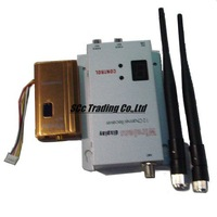 1.2GHz 1500mW Wireless AV Transmitter and 8 Channels Wireless AV Receiver, Audio/Video Output