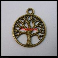 200pcs/lot 24x20mm bronze pendants charms FREE SHIPPING wholesale