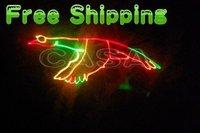 Free Shipping--400mW RGY Animation ILDA Laser Light DMX Disco Club DJ Light