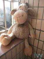 "NICI Gray Clothing Goat Dorey Sheep Stuffed 18""new"