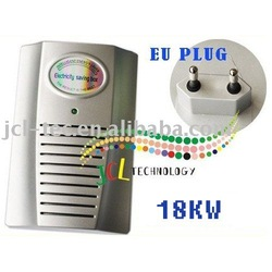 40pcs/lot Household Power Energy Electricity Money Saver 18KW with EU socke(China (Mainland))