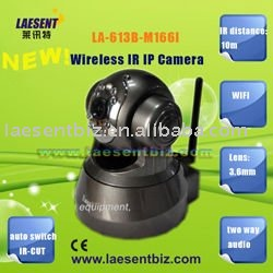 NEW! Free Shipping Cellphone platform WIFI Wireless IR IP Camera LA-613B-M166I