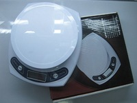 Free shipping+ 1G-7000G Large LCD display / precision electronic scale ,digital scale 10pcs