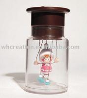 Free shipping KINTO Bottle puppet Nohohon Best Gift for Children Girlfriend