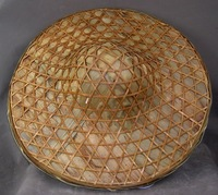 chinese big bamboo hat summer cap fishing hat