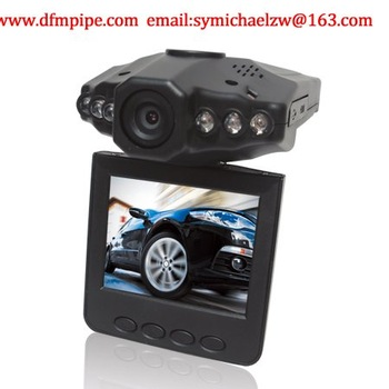 "Night Vision Car camera (120 Degree Convex Lens,2.5"" TFT LCD Screen,Motion Detection,Video,Take Photo,Playback,Cycled Recording)"