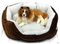 Pet lamb cat kennel pad removable and washable anti-slip mat cashmere dog bed house kennel Large size