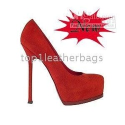 price drop ship -hot selling suede leather pumps platform high heels factory(China (Mainland))