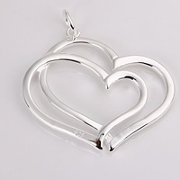 Promotion.Free Shipping 925 Sterling Silver Jewelry Charm Pendant.Direct Factory Price .DIY Pretty Pendants 017