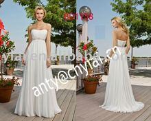2011 New Dress 2011 Latest Design Ladies Fashionable Beaded Belt Wedding Dress BD1158(China (Mainland))