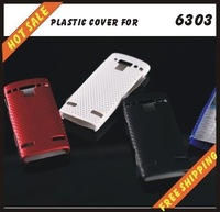 Free shipping --New high quality more colours plastic cover case mobile phone cellphone for NOKIA 6303