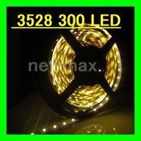 Retail LED Strip Flexible ribbon for curving around bends Warm WHITE LED light strip 5M/lot