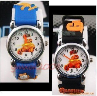 Free shipping, wholesale 50pcs/lot,Children's watches, electronic watches, Cartoon watch,3D strap