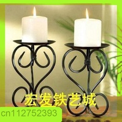 European rural style metal candlestick holder with Concise and easy design candleholder free shipping ZT1001(China (Mainland))
