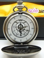 Japanese Full Metal Alchemist mark pocket watch Necklace free shipping