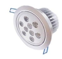 selling 9*1W high lumen led down light/ led ceiling light/ led commercial lighting