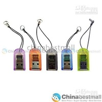 5pcs/lot Mini USB 2.0 Micro SD TF SDHC Memory Card Reader Writer Computer Memory Card Readers
