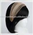 luxury HAIR Wide Mesh HEADBAND Hairband bow head band