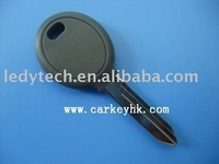 Good quality Chrysler transponder key with 4D64 chip No logo