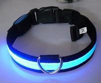 CHINA manufacturer: led flashing dog collar, spiked dog collars, cat collar, led collar, training