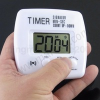 Free Shipping&Tracking LCD Digital Timer signalur min-sec count up-down #713