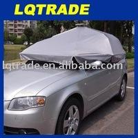 Solar automatic telescopic automobile sunshade/umbrella/automatic remote-controlled car protective covering