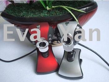 100pcs/lot 30.0 Mega USB 6 LED Webcam PC Camera with Mic win7 phoenix