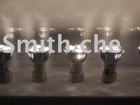 Dimmable!!! 10pcs/lot  new design 100% led chip  warm white GU10 3W  lights bulb lamp ,ac 220v-240v