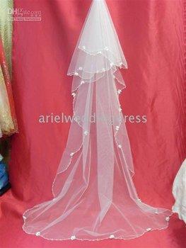 Wholesale - 2011New Beautiful bridal veils wedding dress veils, tiaras and hair accessories