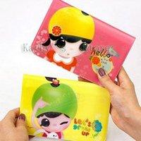 Fruit girl series, passport case,Passbook bag, 12 passport-set and2 card-set, 6 color (10pieces/lot) air mail , EMS 45%discount