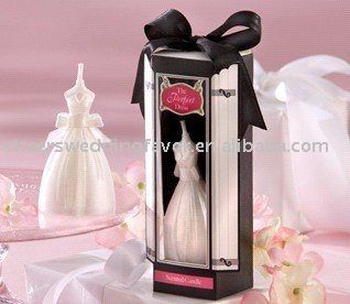 wedding favor--&quot;The Perfect Dress&quot; Scented Candle which is well sale right now(China (Mainland))