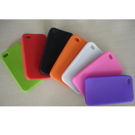 New Chromatic Silicone Case for Hi-Phone 4 4G Free Shipping(China (Mainland))