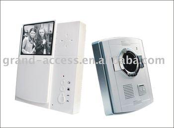 5pcs per lot Nightvision Video Door Phone with Plastic camera V3B-S