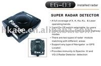 free shipment,Radar Detectors RD03 Radar Detectors X,K,KA,KU laser operating bands protection support