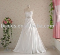 RS9030,Real dresses samples wholesale free shipping new designer white/ivory formal wedding dresses Wedding Gown