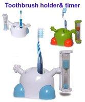 10pcs/lot toothbrush sandglass timer, toothbrush timer, toothbrush timer and holder