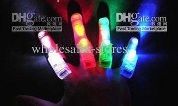 finger lamp color Led,Magic fingers laser light toys, Phantom finger laser light,