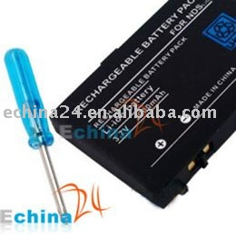 2000mAh Rechargeable Battery for Nintendo DS Lite NDSL New Wholesale and Free Shipping 300 pcs
