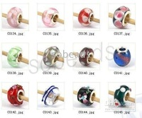 Bulk murano glass beads lampwork beads300pcs BEADS FIT mix /different designs 00014