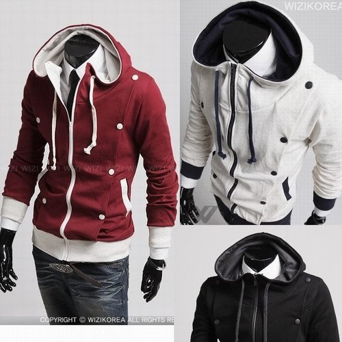 Fashion men's hoodie jacket, fleece hoody men,zipper Hoodie,Men hooded jacket, Sweater,Free Shipping !(China (Mainland))