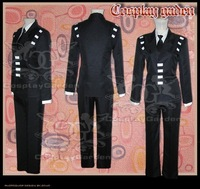 Freeshipping Hot Selling low price Cheap Cosplay Costume C0504 Soul Eater Death the Kid