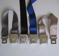 Airline Airplane Seat Belt buckle Fashion Belt Adjustab with airbus logo colors NEW