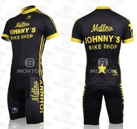 Free shipping 2011 cycling jerseys,JOHNNY'S team cycling jersey+bib shorts size S-XXXL I
