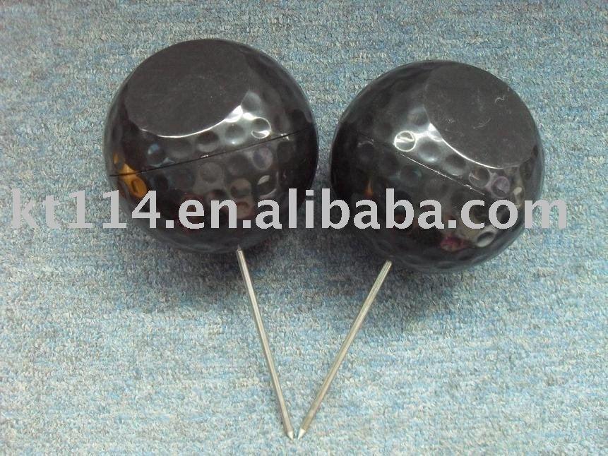Black Colour Plastic Golf Tee Marker(China (Mainland))