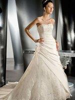 Hotsale Featured Modern chapel bridal wedding dress A002