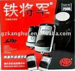 2505 Motorcycle alarm system(China (Mainland))